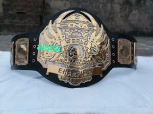 TNA world heavyweight wrestling championship belt adult zinc plates 4mm