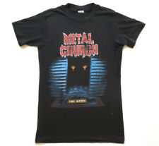 METAL CHURCH Vintage T Shirt 80's CONCERT 1987 The Dark TOUR Dates Heavy BAND