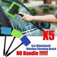 5x Microfiber Car Auto Wiper Windshield Cleaning Glass Window Cleaner Brush Tool