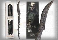 Harry Potter Varita Mágica Mortifagos Thorn Y Marcador 3D Texto Original En Edle
