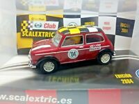 SCALEXTRIC Slot Car MINI COOPER Club Special Edition NEW