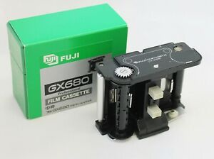 Fuji Fujifilm GX680 Profi Film Kasette Einsatz IN Karton Aus Japan