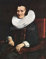 MAES NICOLAES PORTRAIT MARGARETHA GEER WIFE JACOB TRIP ARTIST PAINTING OIL CANVA