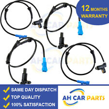 4X ABS SPEED SENSOR FOR PEUGEOT 206 FRONT AND REAR DRIVER AND PASSENGER SIDE