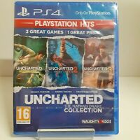 Uncharted Nathan Drake Collection PS Hits PS4 Playstation 4 Game - New & Sealed