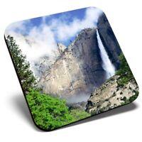 Square Single Coaster - Yosemite National Park USA America  #8992