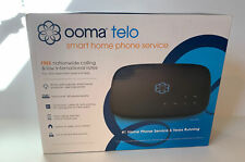 Ooma Telo VoIP Smart Home Phone Service – Black New In Box Free Shipping!