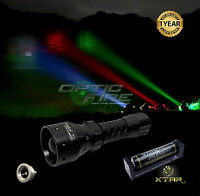 Opticfire® TX-38 T38 LED hunting light torch lamping lamp IR NV night vision