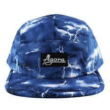 Agora Storm 5 Panel Camp Cap Hat baseball dad snapback NEW
