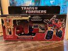 VINTAGE 80'S HASBRO G1 TRANSFORMERS POWERMASTER OPTIMUS PRIME W/ ORIG. BOX Read For Sale
