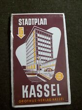 Alter Stadtplan von Kassel