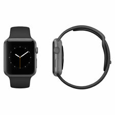 Apple Watch Series 2 42mm Aluminium Case Black Sport Band Space Grey Colour