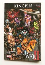 Civil War II Kingpin Marvel Graphic Novel Comic Book