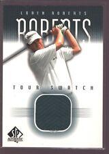 LOREN ROBERTS 2001 SP AUTHENTIC TOUR SWATCH PGA GOLF SHIRT JERSEY PATCH $12