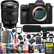 Sony a9 Ii Mirrorless Camera with Fe 24-105mm F4 G Oss Lens Sel24105G Bundle