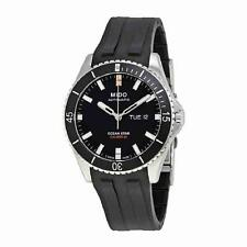 New Mido Ocean Star Captain Automatic Mens Rubber Strap Watch M0264301705100