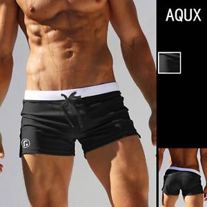 Men's Sexy Swim Briefs With Pocket Resort wear  Swimwear Swim Trunks Shorts Soft