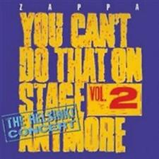 Frank Zappa - You Can't Do That On Stage Anymore, Vol. 2 - The Helsink NEW CD