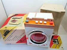 VINTAGE 1975 PLASTIC DOLL WASHING MACHINE TOY IN BOX RUSSIAN EASTERN EUROPE