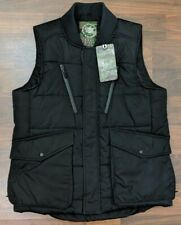 New JC Jordan Craig Legacy Edition Mens Vest Puffer Black Full Zip Size Medium