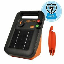 SOLAR S17 ELECTRIC FENCE ENERGISER - Gallagher Panel Fencing Battery Included