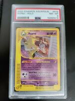 Pokemon Hypno Holo H12/H32 Aquapolis e-Reader PSA 8 WOTC SUPER CLEAN!