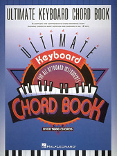 ULTIMATE KEYBOARD CHORD BOOK-PIANO MUSIC BOOK-BRAND NEW ON SALE-OVER 1600 CHORDS