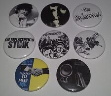 8 The Replacements button badges Tim Pleased to Meet Me Bastards of Young Punk