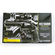 ACADEMY S&W M357 Airsoft Pistol BB Gun 6mm /Revolver, Spring, ABS ,Smith&Wesson