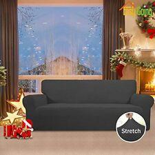 Stretch Slipcover Sofa Couch Cover Protector Elastic Bottom Spandex Jacquard