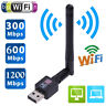 300-1200Mbps USB2.0 Wifi Router Wireless Adapter Network LAN Card w/ Antenna Lot