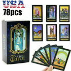 78-Card English Version Beginner Tarot Cards Deck and Book Set with Guidebook