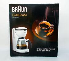 BRAUN KF520 CAFFE' HOUSE PUR AROMA  MACCHINA DA CAFFE' ELETTRICA