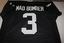 "DARYLE LAMONICA #3 SEWN STITCHED AFL THROWBACK  JERSEY SIZE XXL ""MAD BOMBER"""