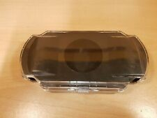 Playstation Portable PSP Clear Black Hard Plastic Case