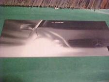 2000 MERCEDES-BENZ CL 500 DEALER BROCHURE BOOKLET