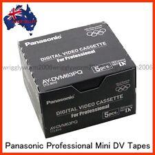 10x Panasonic AY-DVM63PQ MiniDV Cassette Professional Mini DV Tape 10Pack