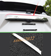 Fit For Ford Explorer 2020 2021 Silver Rear Trunk Tailgate Decorative Strip Trim