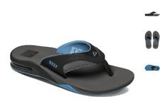 Reef Fanning Grey Light Blue Sandal Comfort Flip Flop Men's US sizes 7-17 NEW!!!