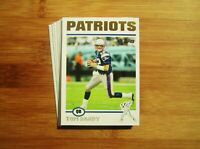 2004 Topps GOLD New England Patriots TEAM SET Tom Brady