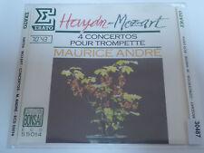 MAURICE ANDRE : Haydn / L. Mozart / W A Mozart  > VG+ (CD)