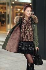 Faux Fur Parka Winter Coats & Jackets for Women