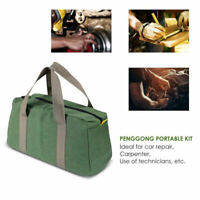 Multi-function Waterproof Canvas Storage Hand Tool Bag Portable Toolkit Pouch