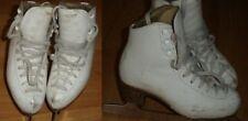 """Risport Laser Ice Skates 235 C with 9"""" Mk 21 blades 9"""" long inside sole liner #2"""