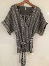 Rachel Roy Wool Cashmere Kimono Wrap Belted Sweater Jumper Cardigan S Small