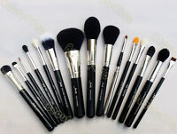 Pro Makeup Cosmetic Blush Brush Eyebrow Foundation Powder Kabuki Brushes Kit Set