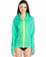 """Body Glove Womens Forecast Live It Up Jacket Hoodie Cover-up Size XS 31"""""""