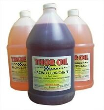 """Gallon of """"Light"""" Synthetic Racing Oil THOR Go Kart Cart Races Engine Parts New"""