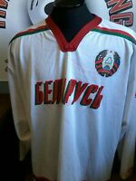 Belarus Game worn jersey  IIHF