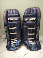 Vaughn vision goalie pads. Chameleon candy paint color. Ccm cooper hockey